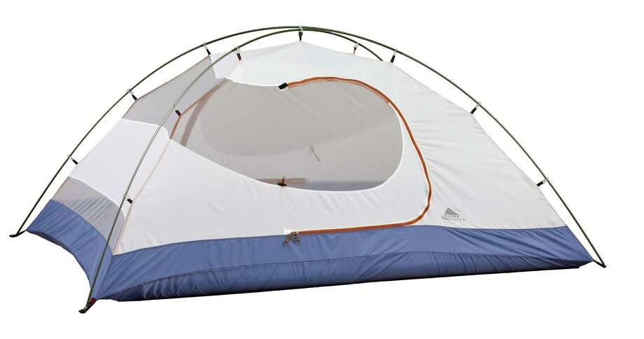 The Gunnison 2.1 tent from Kelty makes easy work of pitching your tent. Available at REI. Photo: Kelty