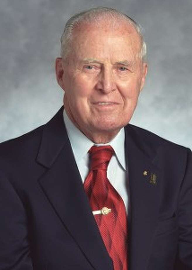 Norman Borlaug was associated with Texas A&M University fromk 1984 until his death in 2009, at age 95. Photo: Texas A&M