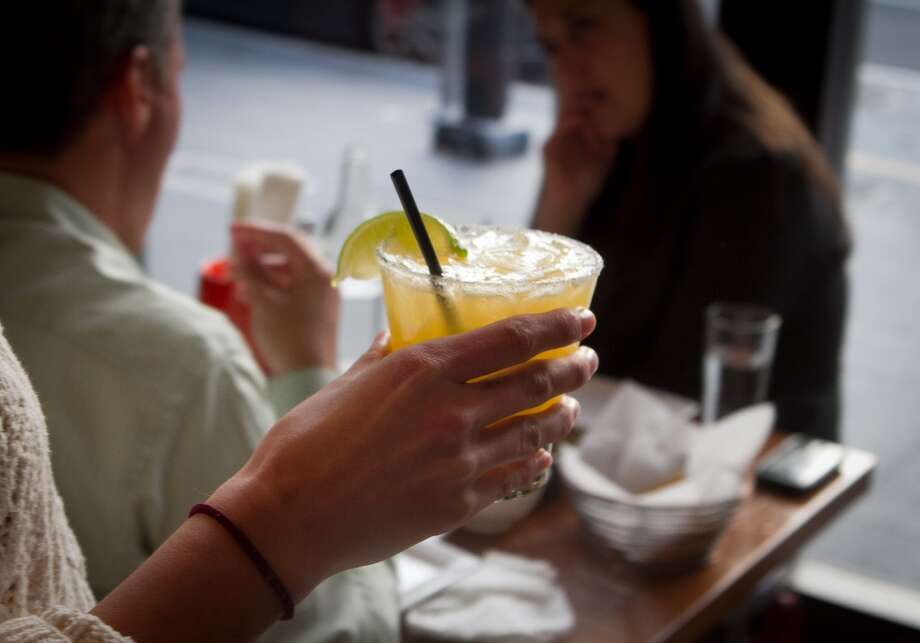 A Margarita on the way to a table at Tacolicious in San Francisco. Photo: John Storey, Special To The Chronicle