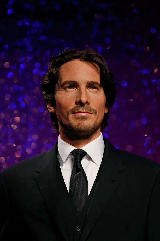The new wax figure of Christian Bale, the Academy Award nominee and star of the 'American Hustle' movie, is presented at the Madame Tussauds attraction, in central London, Monday, Feb. 24, 2014.  (AP Photo/Lefteris Pitarakis) ORG XMIT: LLP106 Photo: Lefteris Pitarakis / AP