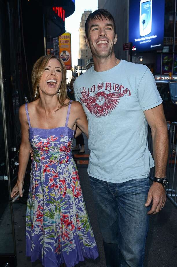 "TV personalities Trista  and Ryan Sutter met on the first season of reality show ""The Bachelorette"" and were promptly married in 2003. All on camera. As far as reality show couples go they're pretty restrained but please, we don't need to hear back from you on every anniversary. Photo: Ray Tamarra, Getty Images"