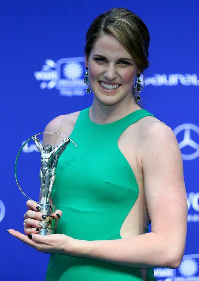 Missy Franklin won four gold medals in the 2012 Olympics in London. Photo: Paul Gilham, Getty Images