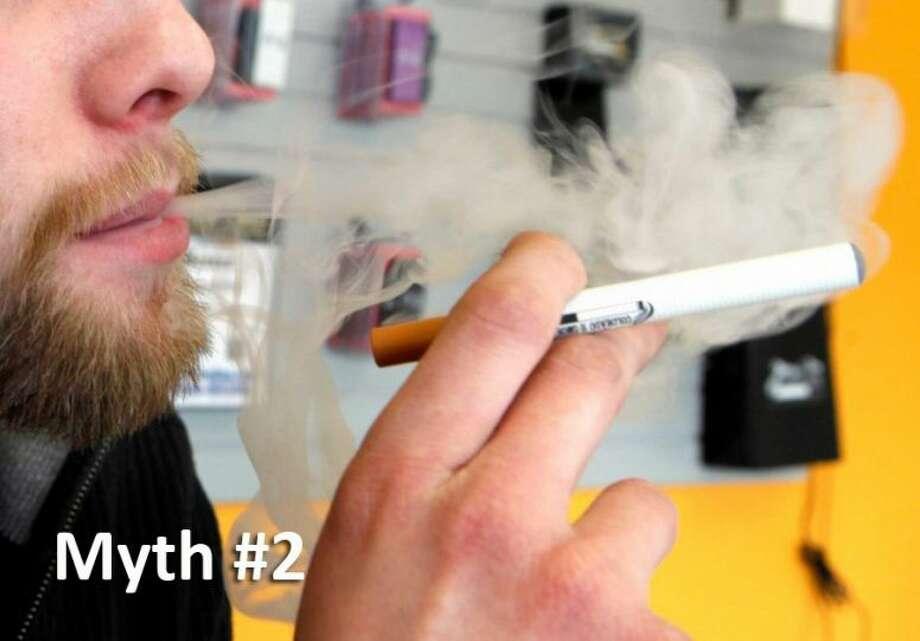 e-Cigarettes, hookahs and cigars are safe alternatives.