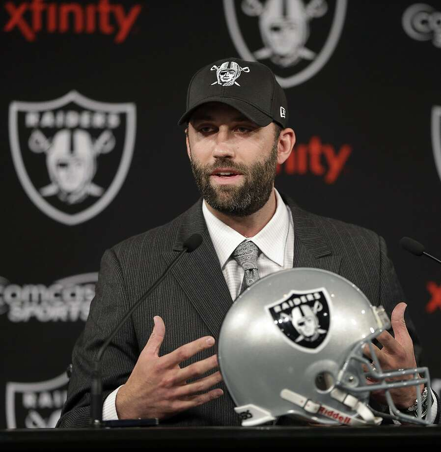 QB Matt Schaub isn't viewed as a one-year fill-in by GM Reggie McKenzie. Photo: Ben Margot, Associated Press