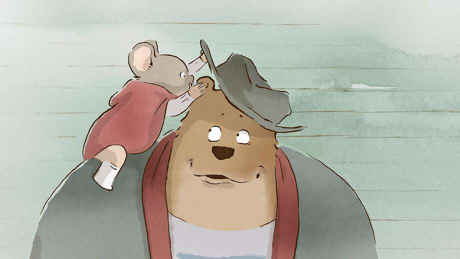 Celestine the mouse and Ernest the bear break the rules by becoming friends in this animated comedy. Photo: GKids