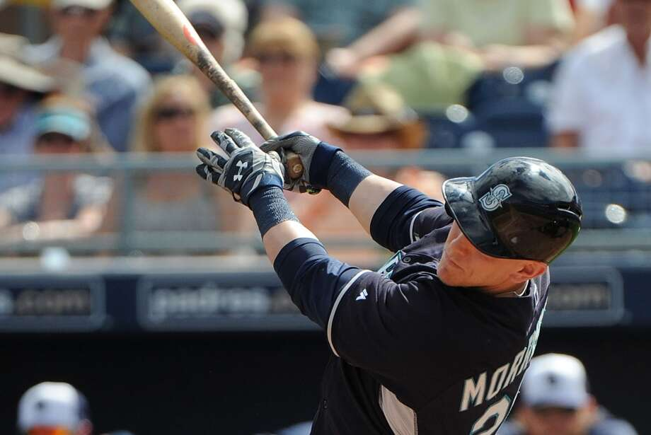 1B/OF Logan Morrison  Salary: $1.75 million Photo: Lisa Blumenfeld, Getty Images