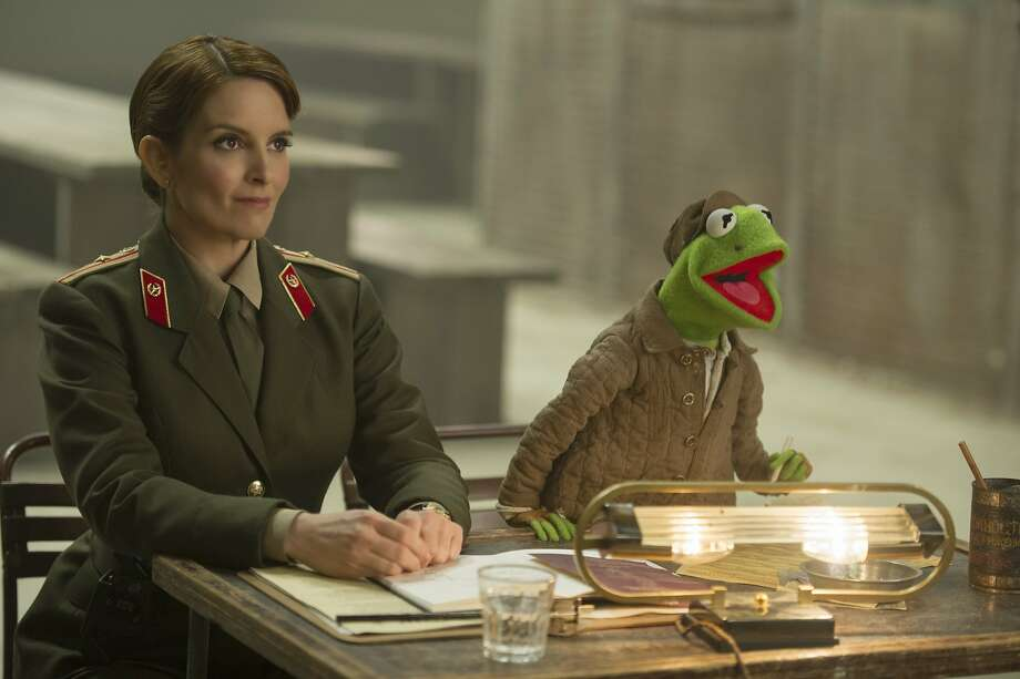 "Kermit the Frog - or is it? - in ""Muppets Most Wanted."" Photo: Jay Maidment, Associated Press"