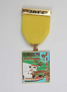 Randolph Art League's Fiesta Medal, $6.75, at the Fiesta Store, lundysart@gmail.com. Photo: Juanito M. Garza, San Antonio Express-News / San Antonio Express-News