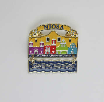 Night in Old San Antonio Medal by the San Antonio Conservation Society, $10, which will be sold at the Fiesta Store, NIOSA's office at 227 S. Presa St., and during NIOSA, 5:30-10:30 p.m., April 22-25, www.niosa.org. Photo: Juanito M. Garza, San Antonio Express-News / San Antonio Express-News