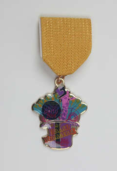 San Antonio AIDS Foundation, 2014 Grand Menagerie Medal, $8, on sale at the Fiesta Store; On Main Off Main, 120 W. Mistletoe; and online at www.webbparty.net. The group's annual WEBB Party Medal is $10 and is available at the same locations. Photo: Juanito M. Garza, San Antonio Express-News / San Antonio Express-News