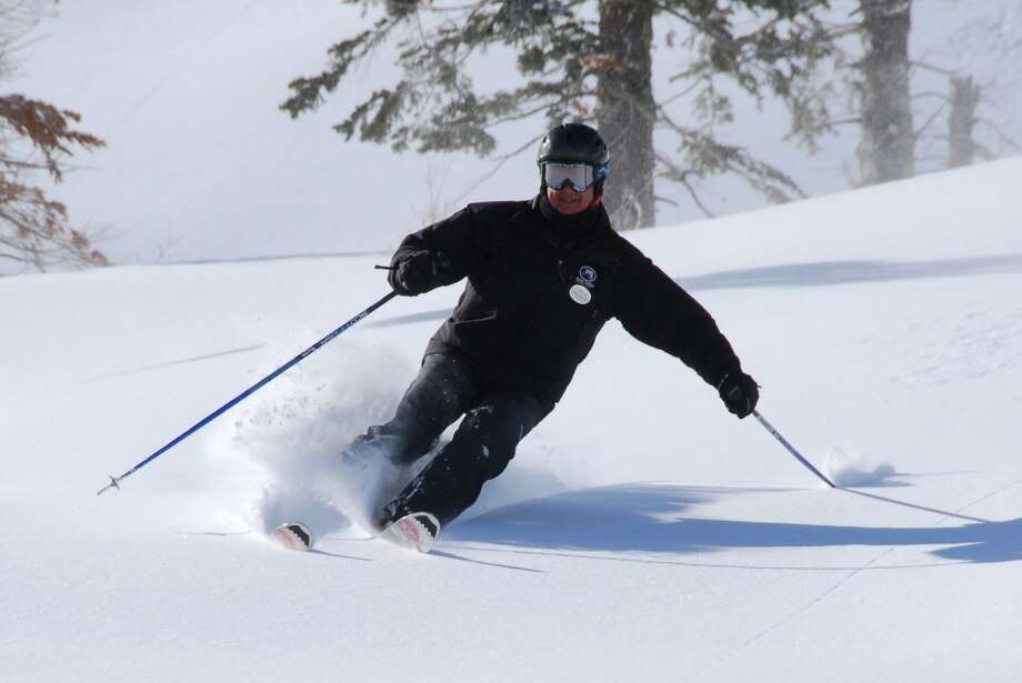 Bear Valley: powder at last