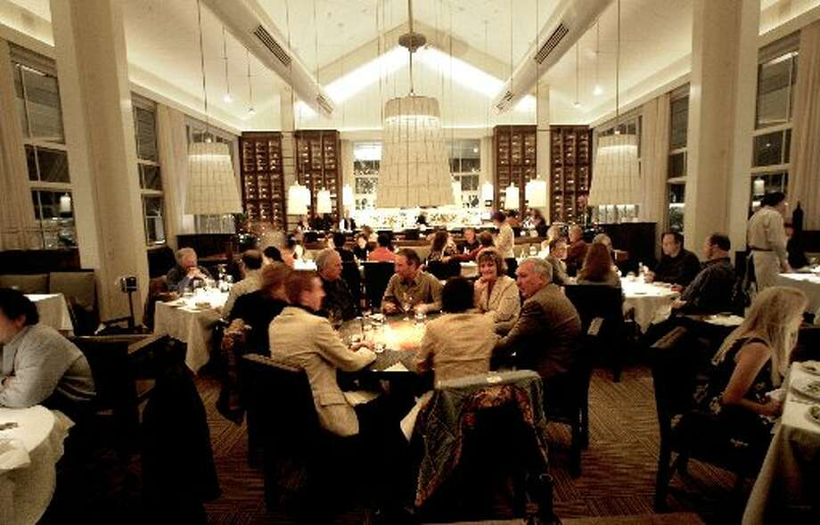 The dining room at Press Photo: Kim Komenich, The San Francisco Chronicle 2011