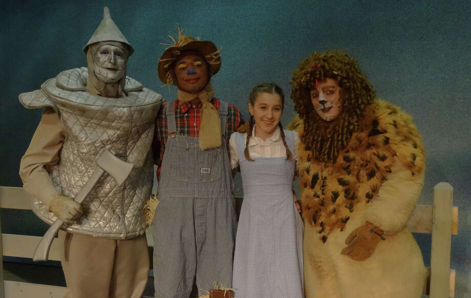 "From left, Jeff Bianco, Kevin Thompson, Grace Cashman and Rob Nichols will begin their adventures in the Land of Oz on Friday, April 4, 2014, when Stamford's Curtain Call Theatre begins a five-weekend run of ""The Wizard of Oz."" For ticket information, visit www.curtaincallinc.com or call 203-461-6358, Ext. 34. Photo: Contributed Photo / Stamford Advocate Contributed"