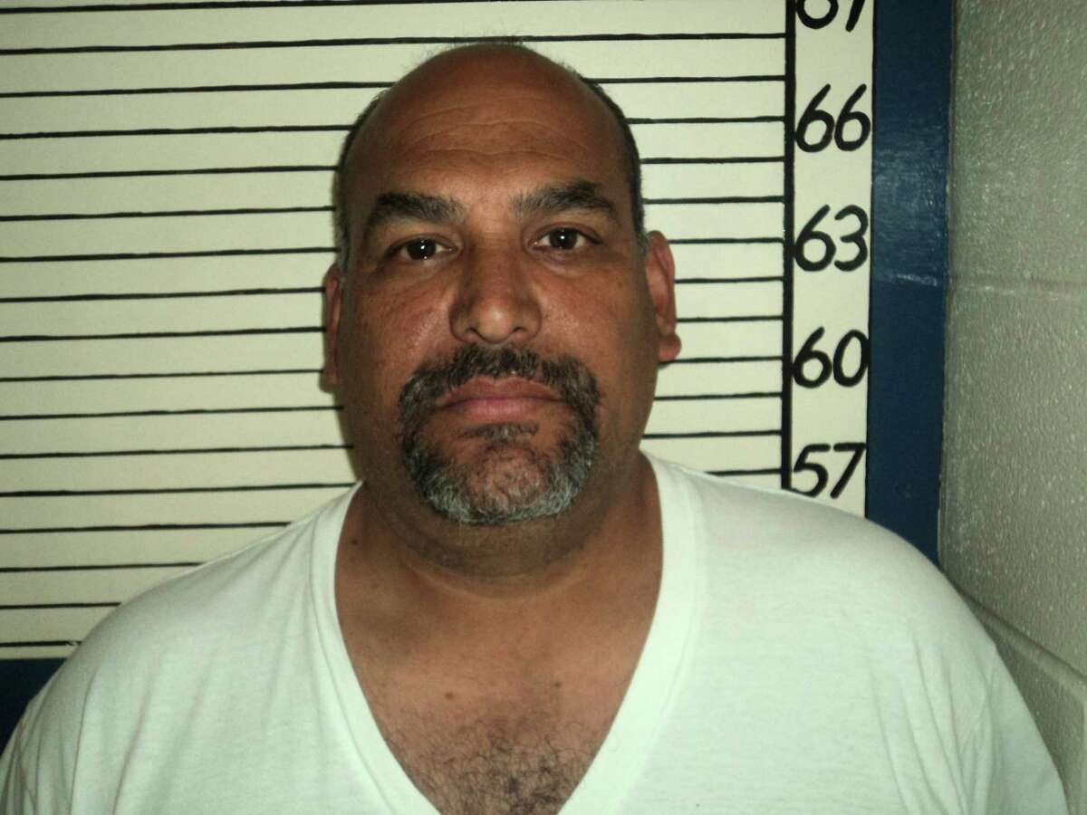 David A. Martinez, 47, seen in an undated booking mug pulled from the Comal County jail website March 27, 2014, pleaded guilty to tampering with a government document under a plea deal finalized Tuesday March 26, 2014 rather than risk a stiffer sentence at trial his defense attorney Robert J. Barrera said.