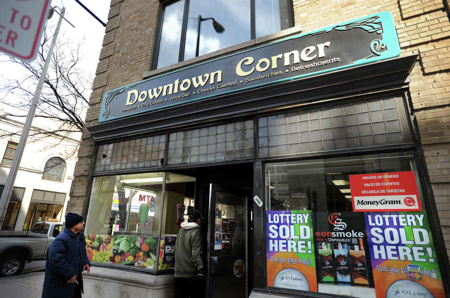 Downtown Corner variety store at 966 Main Street, the corner of Main and John streets in downtown Bridgeport, Conn. on Wednesday, March 26, 2014. Photo: Brian A. Pounds / Connecticut Post