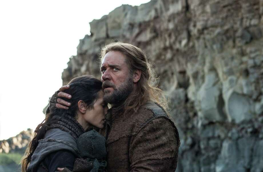 "Jennifer Connelly and Russell Crowe star in ""Noah."" Photo: Photo Credit: Niko Tavernise / © 2012 Paramount Pictures.  All Rights Reserved."