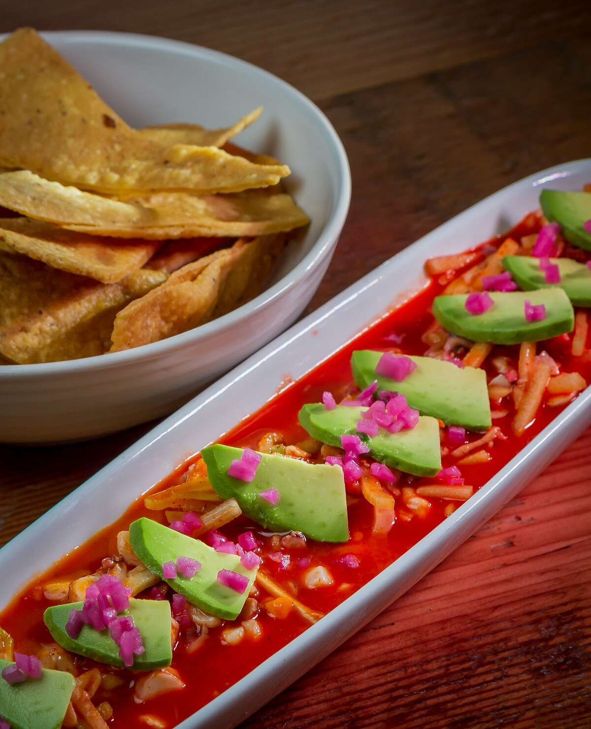 The Ceviche de Aguachile at Sabrosa in San Francisco, Calif., is seen on Saturday, March 22nd, 2014.