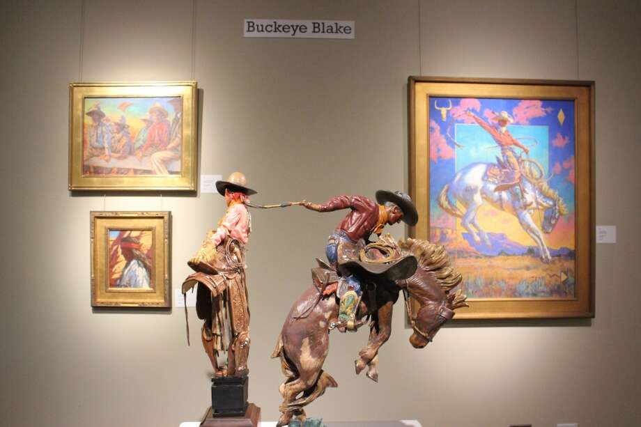 The Briscoe Western Art Museum has hundreds of new paintings and sculptures from contemporary artists as part of its new month-long exhibit Night of Artists, which runs from March 30 - April 27. Photo: Kolten Parker, San Antonio Express-News