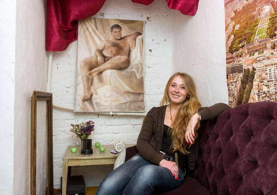 The emperor's new clothes:Twenty-five-year-old artist Olga 