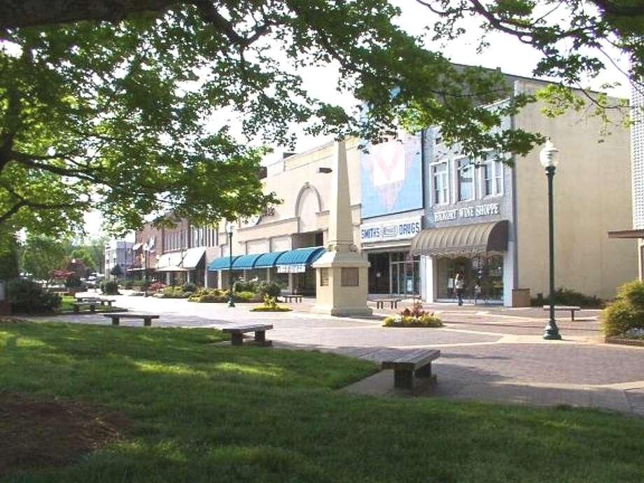 5. Hickory-Lenoir-Morganton, N.C. Photo: Wiki Commons