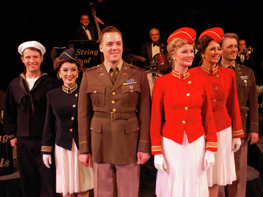 """In the Mood"" showcases the sentimental and patriotic music of the big band era of 1940s. The musical revue will be at the Shubert Theatre in New Haven for two performances on Saturday, April 5 and will be back for a six-day engagement at the Ridgefield Playhouse starting April 15. Photo: Contributed Photo / Connecticut Post Contributed"