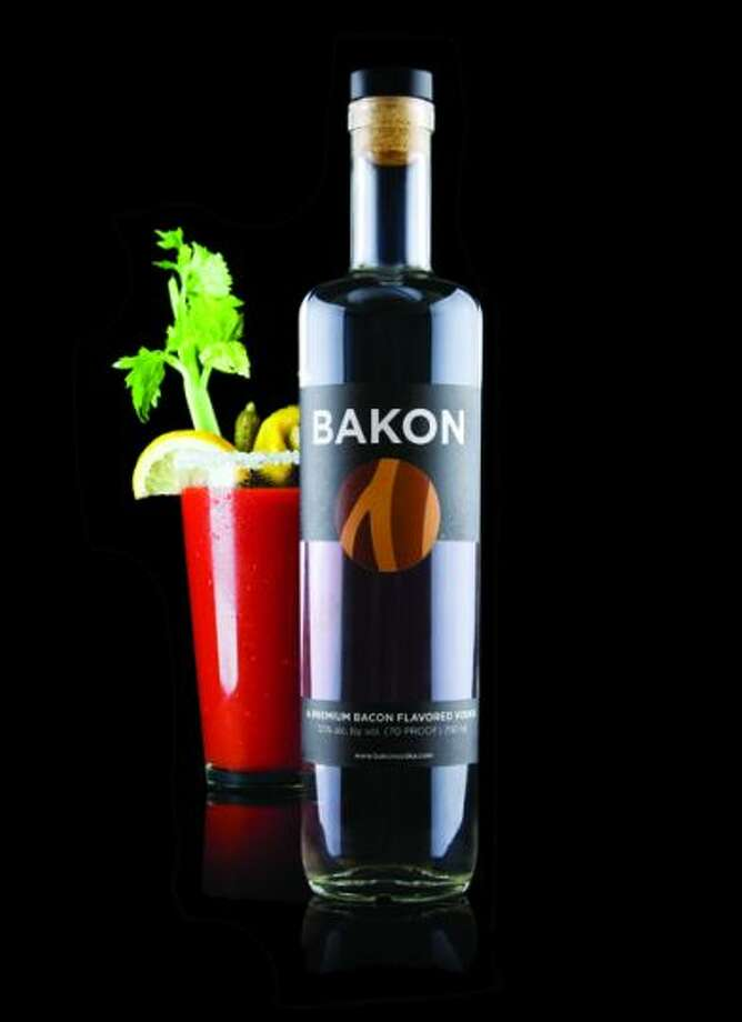 Bacon-flavored vodka (Bakon Vodka)