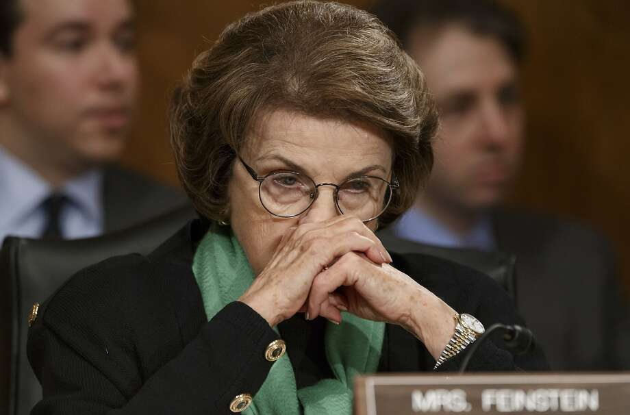 Ron Paul says Dianne Feinstein is being a hypocrite on spying. Photo: J. Scott Applewhite, Associated Press