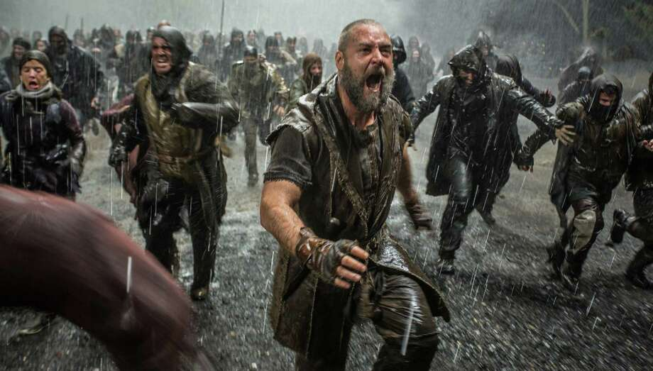 "This image released by Paramount Pictures shows Russell Crowe in a scene from ""Noah."" (AP Photo/Paramount Pictures, Niko Tavernise) ORG XMIT: NYET122 Photo: Niko Tavernise / Paramount Pictures"