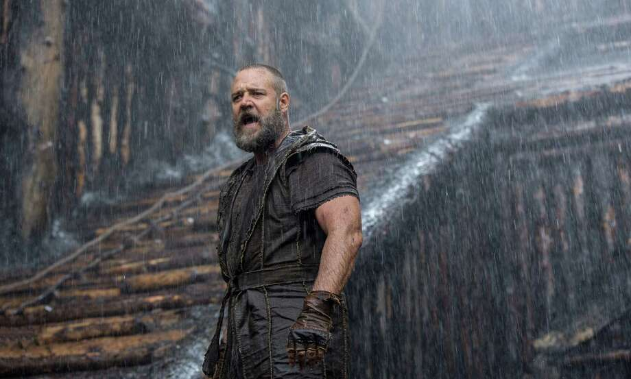 "This image released by Paramount Pictures shows Russell Crowe in a scene from ""Noah."" (AP Photo/Paramount Pictures, Niko Tavernise) ORG XMIT: NYET121 Photo: Niko Tavernise / Paramount Pictures"