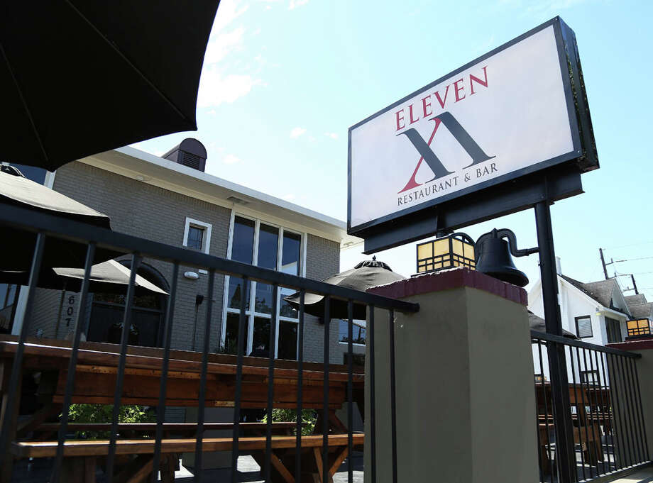 Patio exterior of Eleven XI, 607 West Gray, Thursday, Oct. 17, 2013, in Houston. ( Karen Warren / Houston Chronicle ) Photo: Karen Warren, Houston Chronicle / © 2013 Houston Chronicle