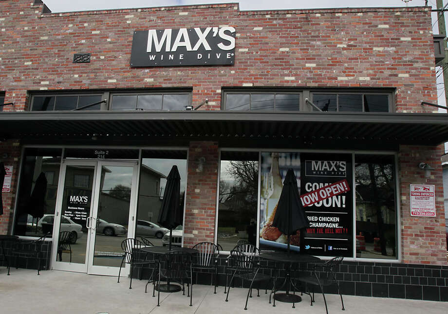 The new Max's Wine Dive on Fairview Thursday, Jan. 30, 2014, in Houston.( James Nielsen / Houston Chronicle ) Photo: James Nielsen, Houston Chronicle / © 2013  Houston Chronicle