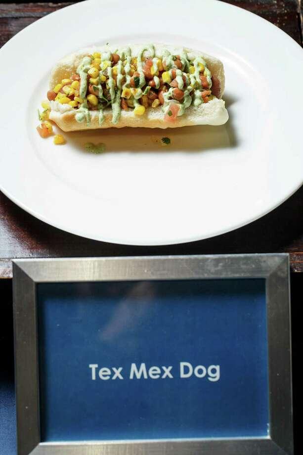 A sneak peak at the new progressive food choices at Minute Maid Park this season, Thursday, March 27, 2014, in Houston. Photo: Michael Paulsen, Houston Chronicle / © 2014 Houston Chronicle