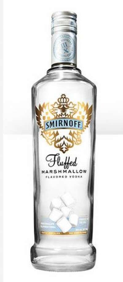 Marshmallow-flavored vodka (Smirnoff)