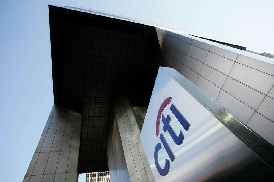 FILE - This Tuesday, Oct. 16, 2012, file photo shows the Citibank building in New York.  Citigroup cannot raise its dividend or buy back its own stock because it needs better plans to cope with a severe recession, the Federal Reserve  ruled Wednesday, March 26, 2014. (AP Photo/Mark Lennihan, File) ORG XMIT: NYBZ129 Photo: Mark Lennihan / AP