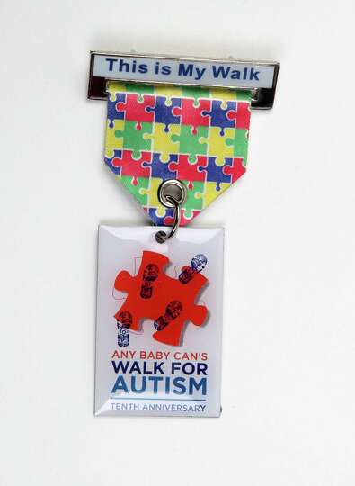 Any Baby Can S 10th Annual Walk For Autism Fiesta Medal
