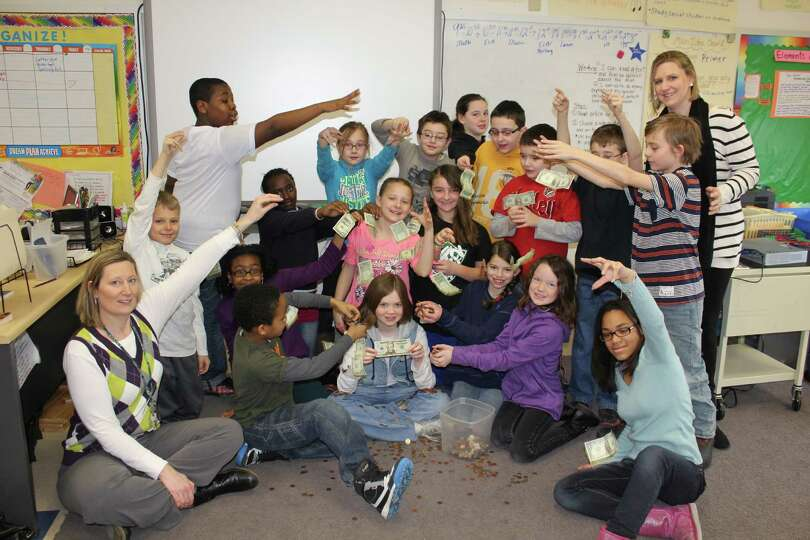 Albany Students pay it forward. In this March 5 photo, New Scotland Elementary School fifth-graders