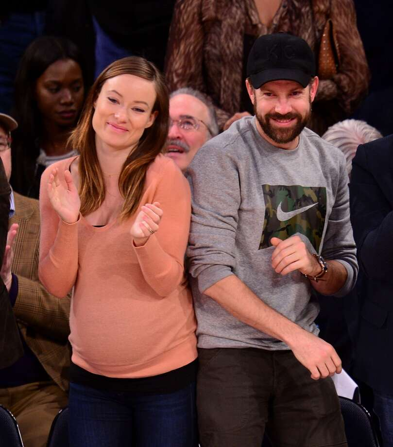 Actors Olivia Wilde and her husband Jason Sudeikis are expecting their first child. Photo: James Devaney, GC Images