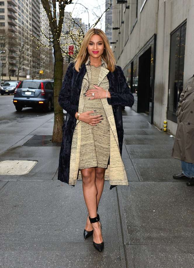 Musician Ciara is expecting her first child with her rapper boyfriend Future. Photo: James Devaney, WireImage