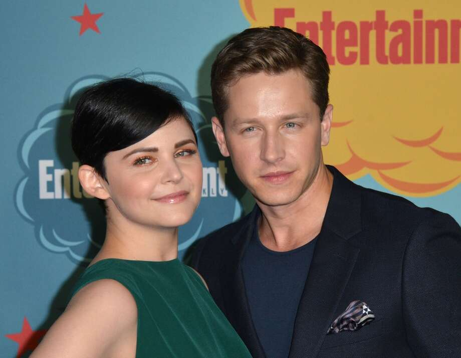 """Once Upon a Time"" co-stars Ginnifer Goodwin and her fiance Josh Dallas are expecting their first child. Photo: C Flanigan, FilmMagic"