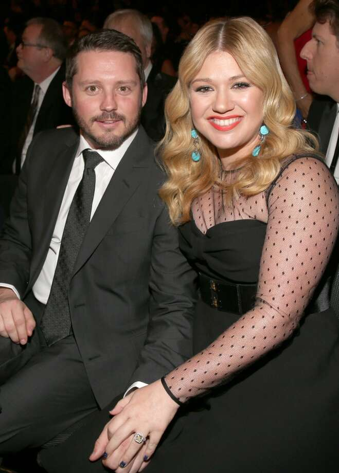 Singer Kelly Clarkson and husband Brandon Blackstock have baby #1 together on the way. Photo: Christopher Polk, Getty Images For NARAS