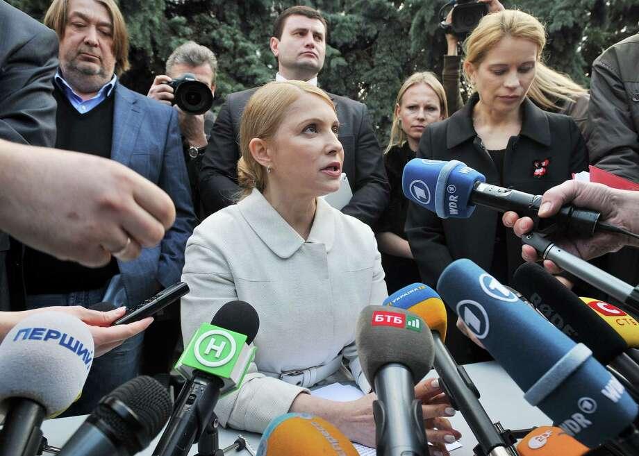 Former Ukrainian Prime Minister Yulia Tymoshenko is expected to run for president. Photo: GENYA SAVILOV, Stringer / AFP