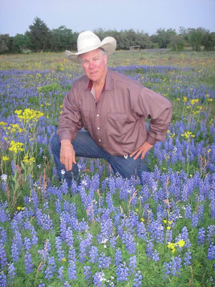 John Elick, owner of Texas Ranch Life, predicts a great bluebonnet season based on the thick patches of plants prompted by generous fall and winter rains. Taunia Elick photo