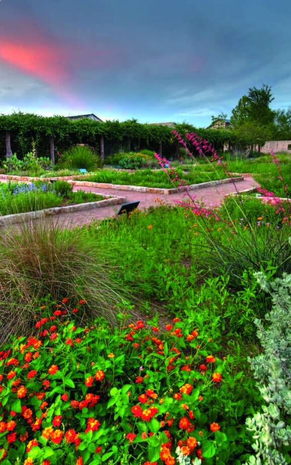 The Theme Gardens at the Lady Bird Johnson Wildflower Center are among the 12 acres of cultivated gardens and meadows on site, in addition to hiking trails. Photo: Courtesy Photo, Lady Bird Johnson Wildflower Center