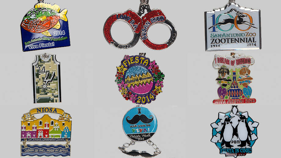 Here's a look at some of the medals you can snag during Fiesta 2014, submitted to us as part of the San Antonio Express-News' first-ever minted Fiesta medal contest. Click here for a list of the winners. Photo: San Antonio Express-News Photo Illustration