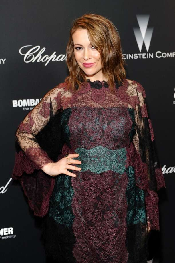 Alyssa Milano Photo: Stefanie Keenan, Getty Images For Chopard
