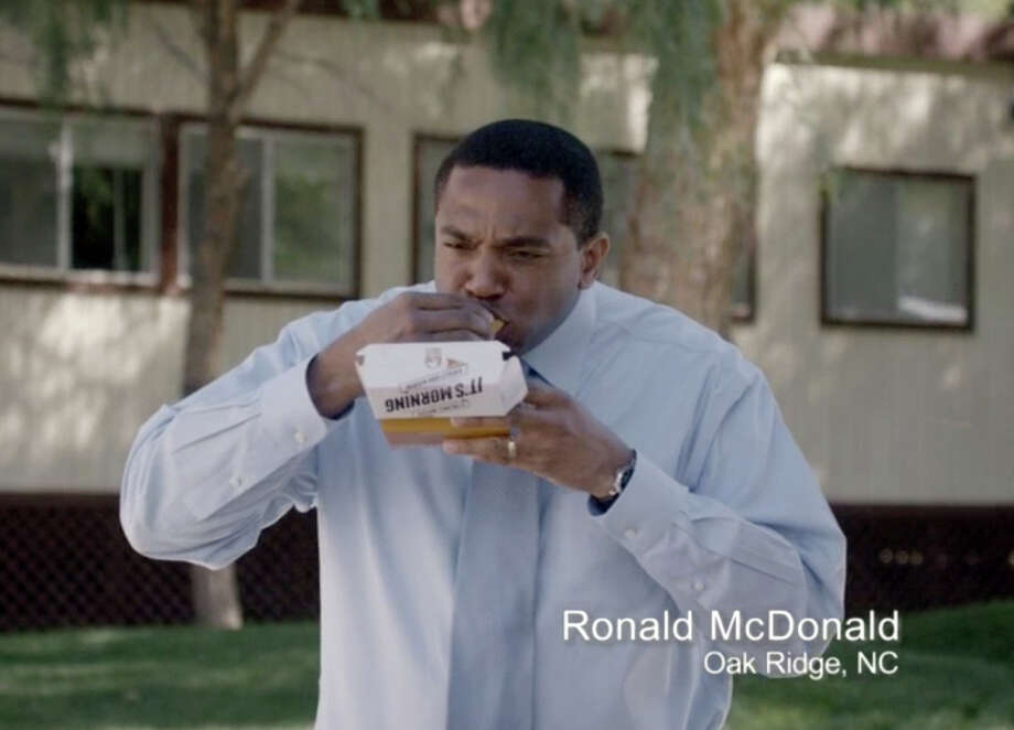 The ad campaign for Taco Bell's new breakfast menu features real people named Ronald McDonald, serving notice that it is targeting McDonald's. Photo: Uncredited, HOEP / Taco Bell via Taylor Strategy