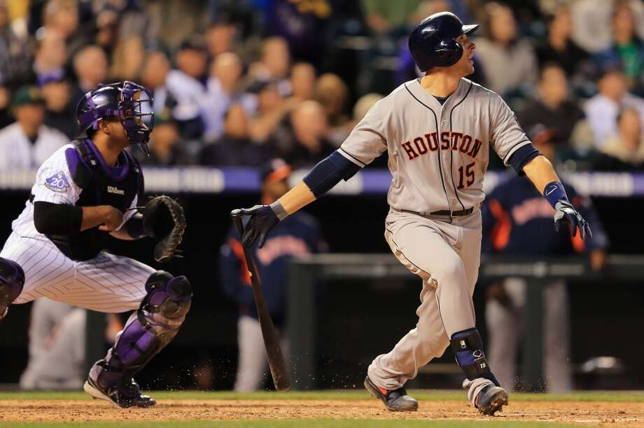 Houston Astros2013 in review: The move to the American League was not kind to the talent-depleted Astros, who put together the worst season in franchise history with a 51-111 record and finished an astounding 45 games out of first place. One of the few bright spots for manager Bo Porter's team was All-Star catcher Jason Castro (above), who batted .276 with 18 home runs and 56 RBI, though he missed nearly all of September after suffering a knee injury. Photo: Doug Pensinger, Getty Images