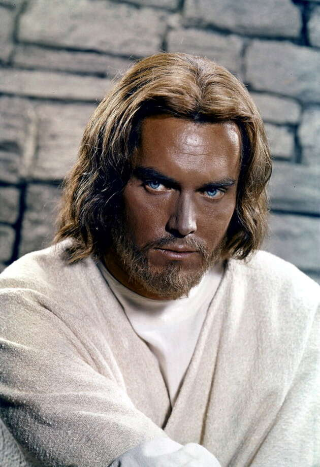 Jeffrey Hunter on set of the film 'King Of Kings', 1961.  Photo: Archive Photos, Getty Images / 2013 Getty Images