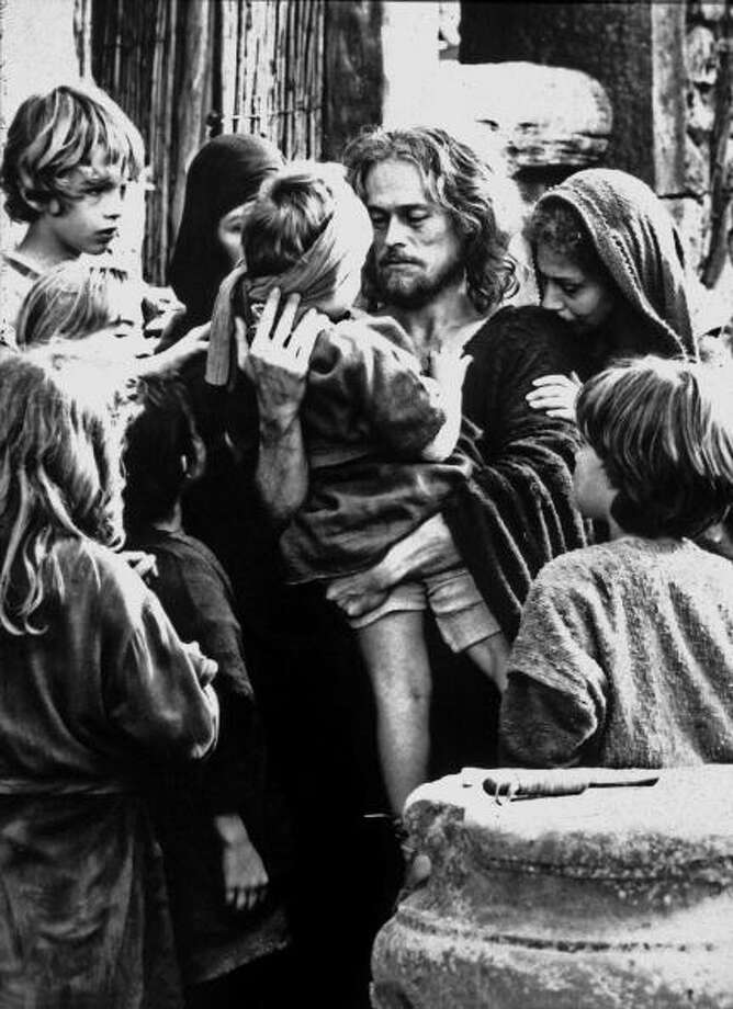 """The Last Temptation of Christ,"" with William Dafoe, 1988. Photo: Apic, Getty Images / Moviepix"