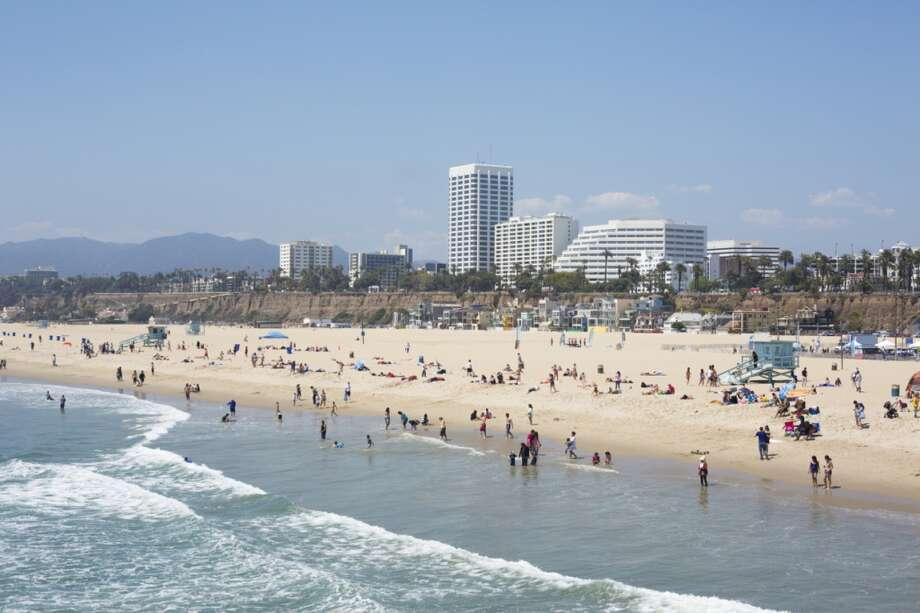 2. Santa Monica Beach, Calif. Photo: David Freund, Getty Images